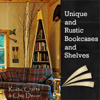 rustic-bookcases