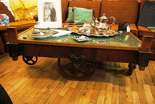 Make Coffee Table Old Suitcase Crafts