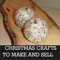 Easy Craft Ideas   Sell on Christmas Crafts To Make And Sell   Rustic Crafts   Chic Decor