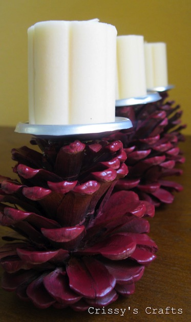 pine-cone-candle-holder