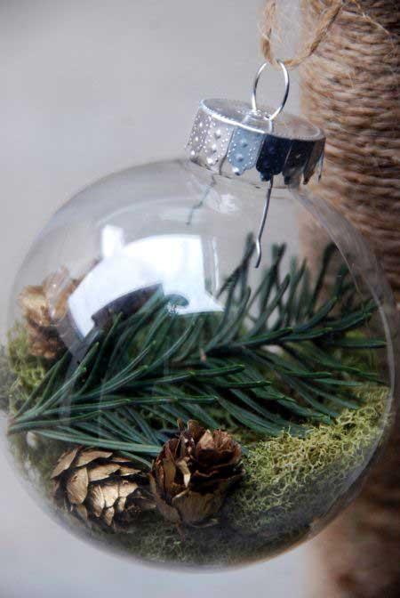 pine cone christmas trree ornament