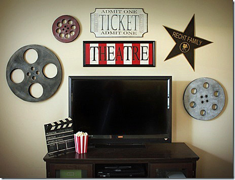 Film Reel Decor Rustic Crafts amp Chic