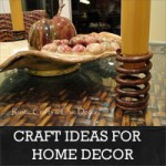 Rustic Crafts & Chic Decor - craft ideas for home decor_edited-1