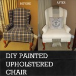 Rustic Crafts & Chic Decor - diy painted upholstered chair