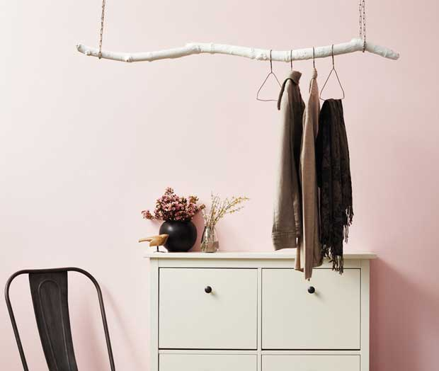 branch hanging rod