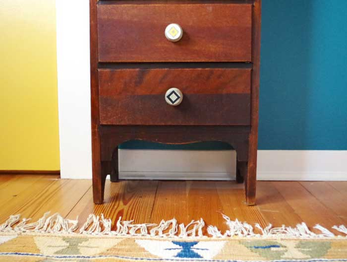 how to make cabinet pulls out of concrete
