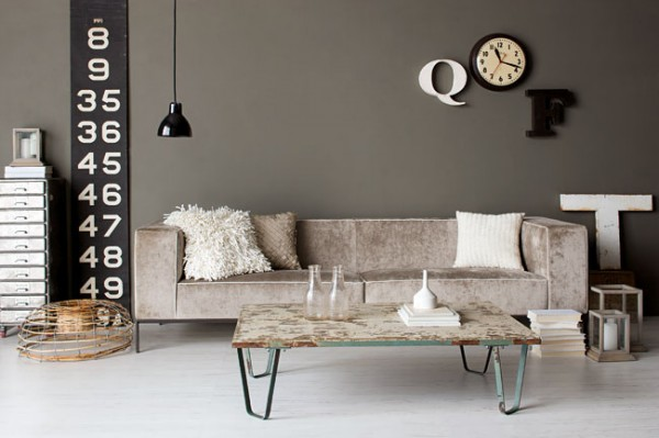 Get Funky With ... Rustic Industrial Decor