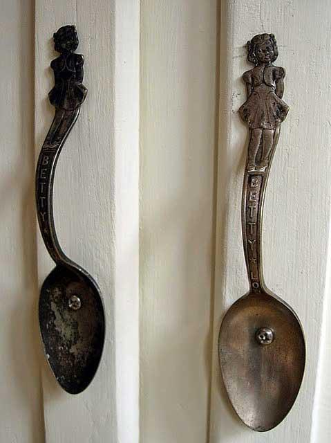 spoon cabinet pulls