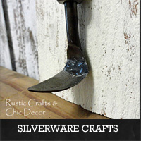 Silverware Crafts | Rustic Crafts & Chic Decor