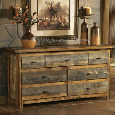 How to make a wood table look rustic inn