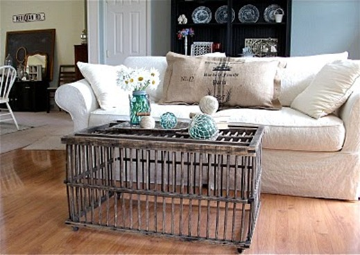 repurposed coffee tables