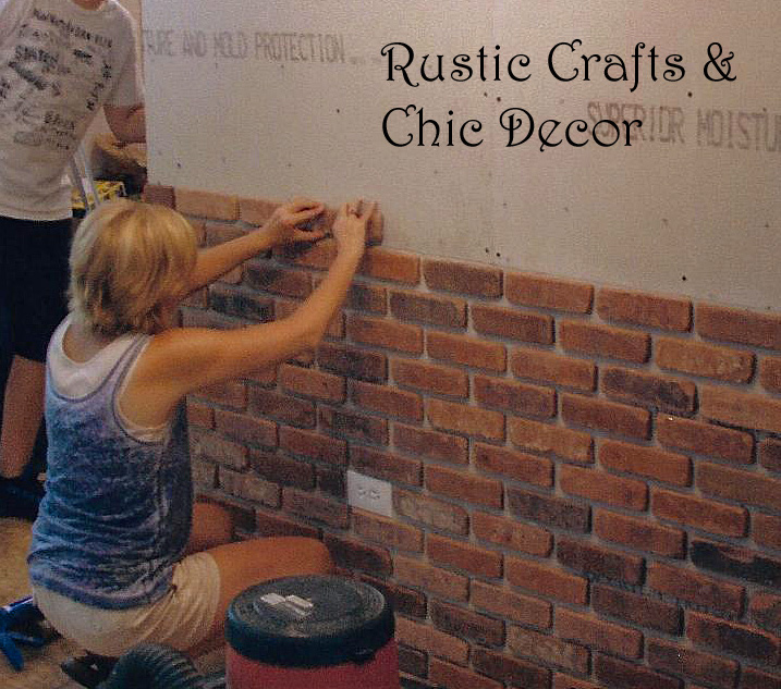 Amazing How To Install A Brick Wall