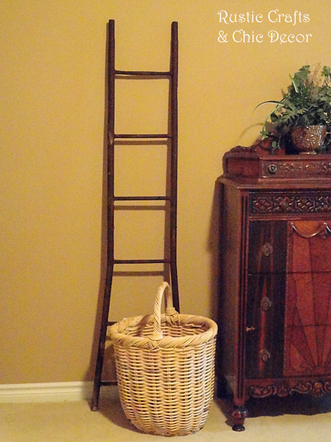 decorating-with-a-ladder