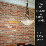 how-to-install-a-brick-wall