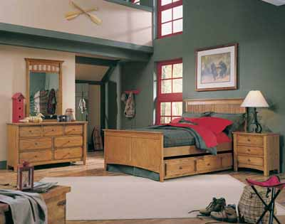 Transitional Rustic Boy Bedroom Ideas | Rustic Crafts & Chic Decor