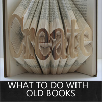 what to do with old books rustic crafts chic decor