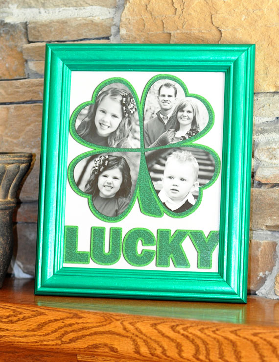 lucky photo frame