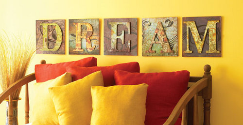 Eleven Unique DIY Wall Art Ideas - Rustic Crafts & Chic Decor