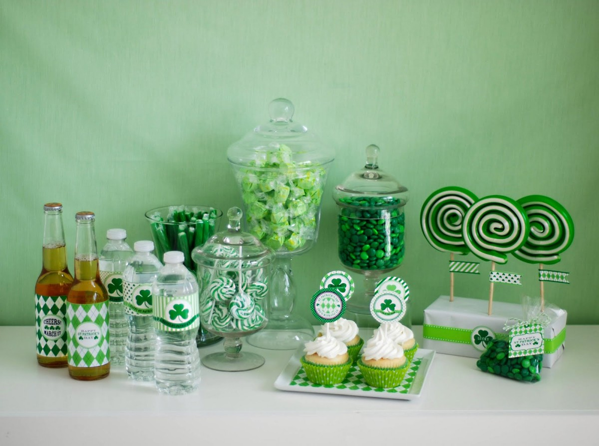 17 st patricks day crafts rustic crafts chic decor for Irish home decorations
