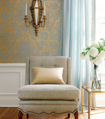 yellow decorating accents