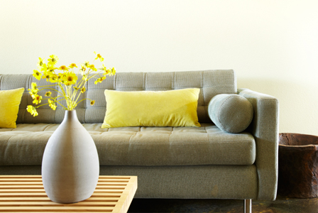 decorating with yellow for clarity relaxation and hiness - Home Decor Accents