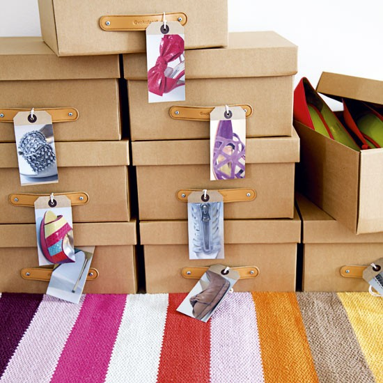 shoebox storage containers