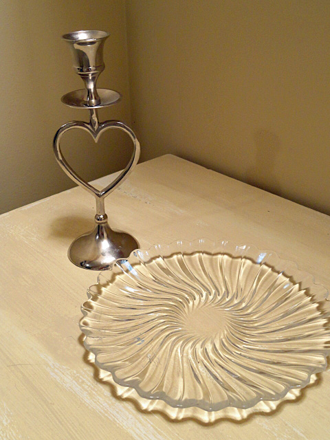 valentine candlestick