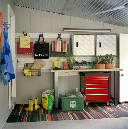 garage decorating ideas organization rustic crafts chic decor