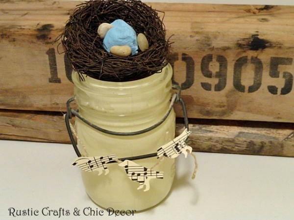 rustic Easter basket