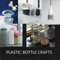 Plastic bottle crafts for home decor rustic crafts for Home decor using plastic bottles