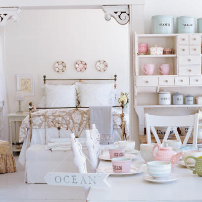 Shabby chic spring decor ideas rustic crafts chic decor for Shabby chic cottage decor
