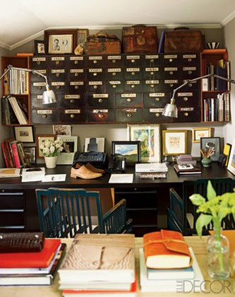 Decorating An Office With Vintage Accessories Rustic Crafts Chic Decor Crafts Diy