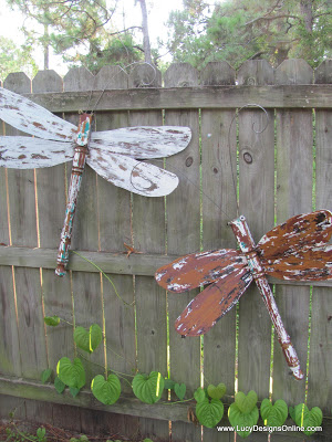 fan blade dragonflies