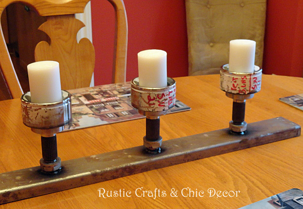 diy candle holders - Diy Candle Holders