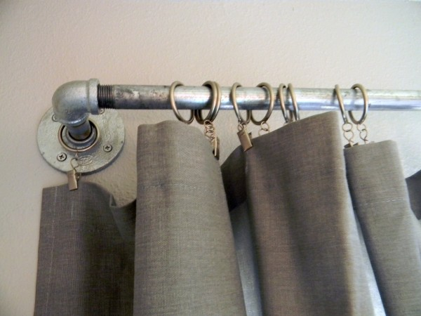 industrial curtain rod