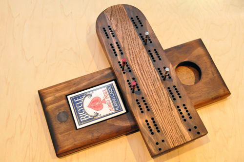 diy cribbage board