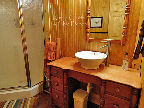 cottage bathroom ideas by rustic-crafts.com