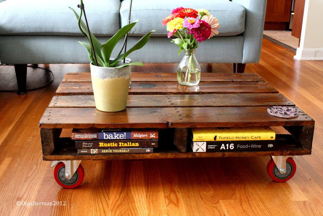 ideas for pallets - pallet coffee table