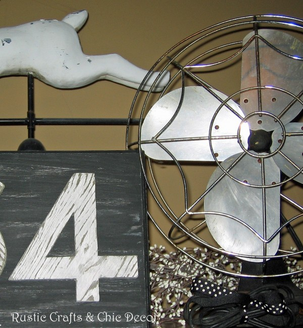 decorating with fans by rustic-crafts.com