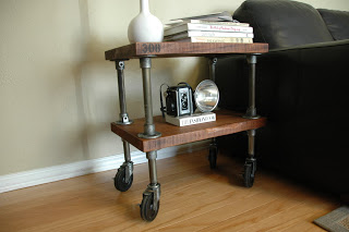 side table by Vintage Industrial