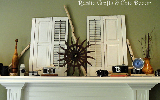 decorating with birch by rustic-crafts.com