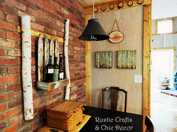 rustic chic decor by rustic-crafts.com