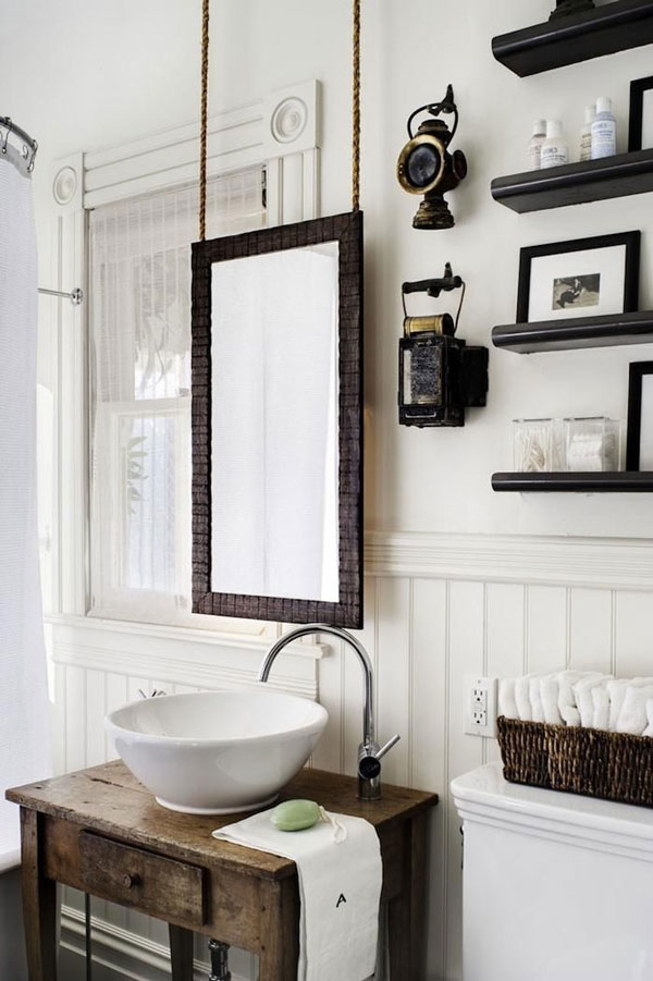 Rustic Chic Bathroom Designs : Rustic Crafts u0026 Chic Decor