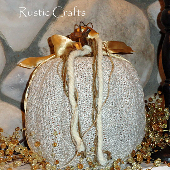 pumpkin crafts by rustic-crafts.com