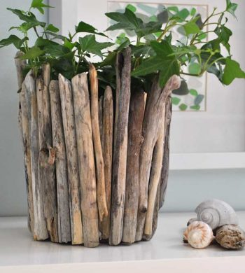 decorating with driftwood