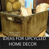 Elegant Upcycled Home Decor Crafts Trend Home Design And