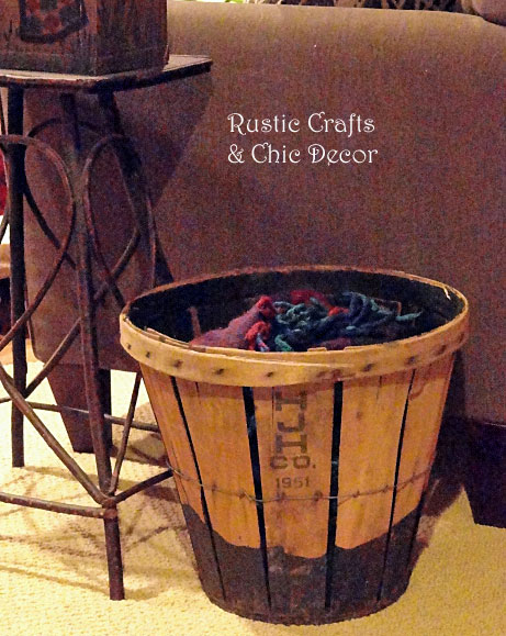 upcycled home decor by rustic-crafts.com