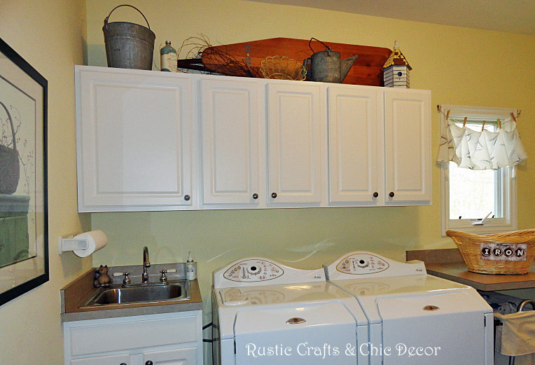 Ideas For Decorating A Laundry Room By Rustic Crafts.com Part 87
