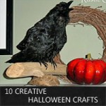 Halloween crafts by rustic-crafts.com