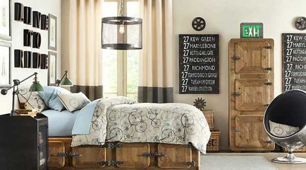 Industrial Rustic Design Bedroom